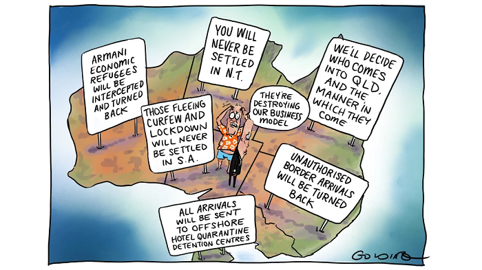 Australia's closed borders have created a few problems.